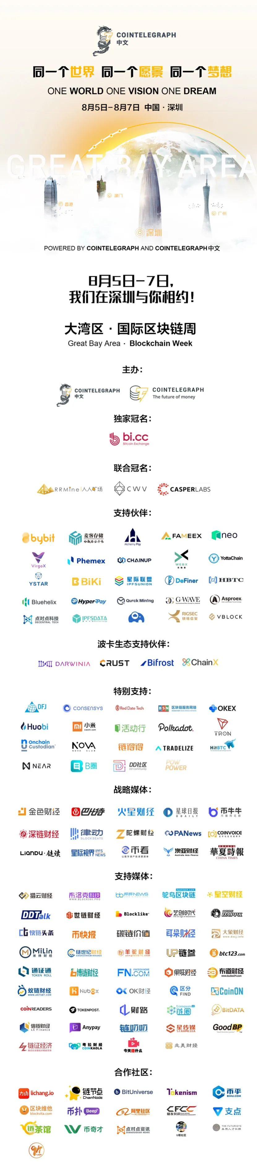 干货、黑科技、跨洋连线,2020Cointelegraph中文大湾区·国际区块链周圆满闭幕